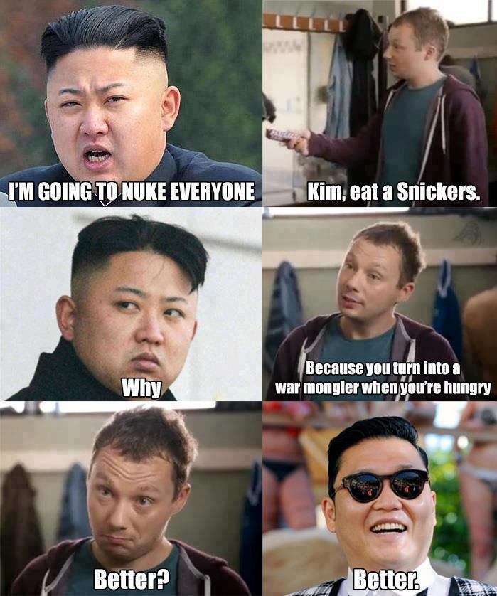 Snickers save the world