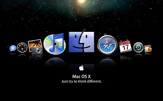 MAC OS X Just try to think different